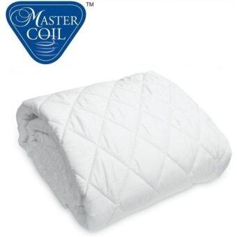 Mastercoil mattress protector for King bed mattress - washable ant-dustmite anti-microbail