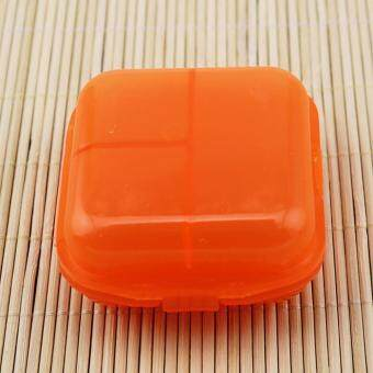 Mini 6 Grids Portable Medical Pill Box Drug Medicine Case Organizer