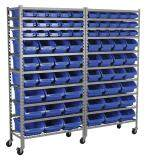 (Pre-order) Sealey Mobile Bin Storage System 72 Bins Model: TPS72