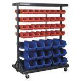 (Pre-order) Sealey Mobile Bin Storage System with 94 Bins Model: TPS94
