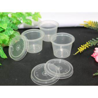 MSE100 Disposable Tester Cup 100pcs with Lids (transparent)