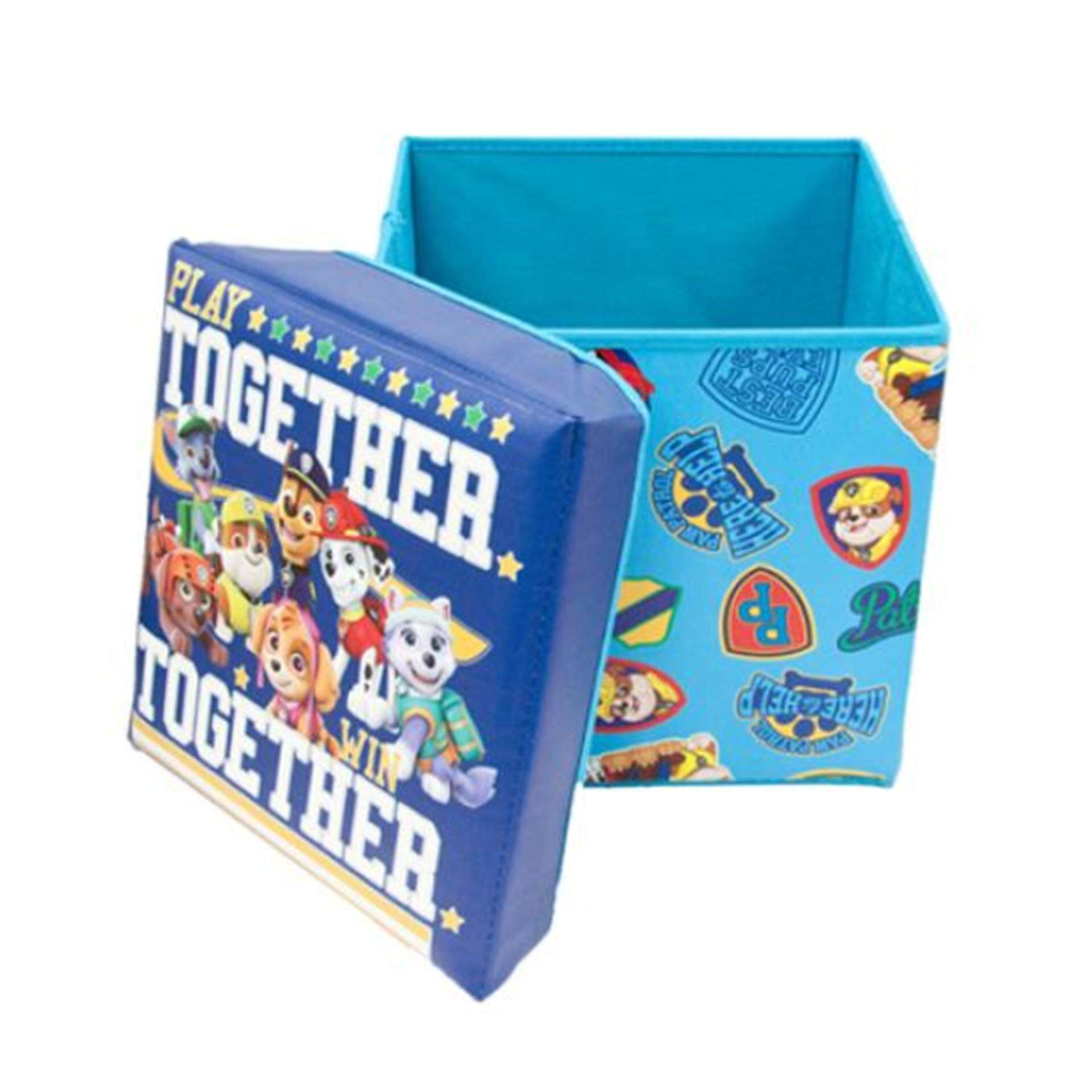 Paw Patrol Storage Box - Blue Colour