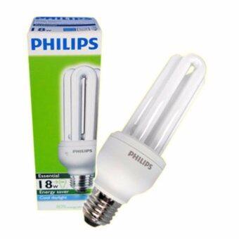 Philips Essential Energy Saving E27 18 Watt (White)
