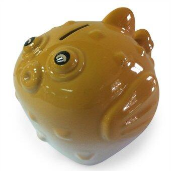 Harga Puffer Fish Coin Box Melon