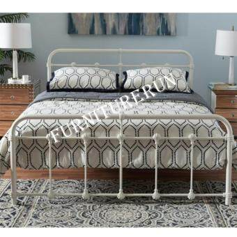 Harga Sandy Vintage Metal Queen Bed