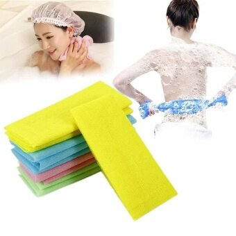 Scrubber Bath Shower Nylon Bath Shower Wash Cloth Towel Exfoliating Body Nylon