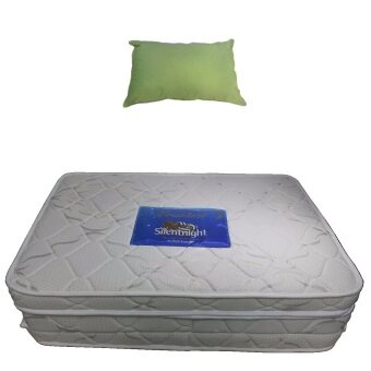 Harga Silentnight Premium Foldable Foam Mattress with Natural CottonPillow Combo set