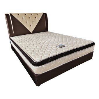 Harga Sleep Magic Premium 9 inch Foam Mattress with Mattress Top - QueenSize (5FT)