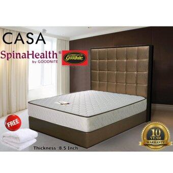 Harga Spinahealth by Goodnite 6 Turns Posture iShape Spring Queen Mattress Only (With Free Mattress Protector)