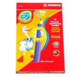 Stabilo 1877J Jumbo Colour Pencil-12L