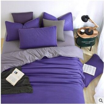 Student bed sheets set quilt duvet cover bedding 4-Sets
