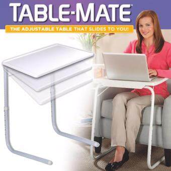 Table-Mate 5 in 1 Smart Table Mate II Foldable Folding TablemateAdjustable Tray As Seen On Tv