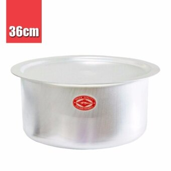 Harga Thailand Crocodile Brand | CCH Aluminium Indian Cooking Curry Soup Pot (36cm) 1pc