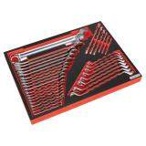 (Pre-order) Tool T ray with Spanner Set 35pc Model: TBTP03 Model: TBTP03