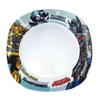 Transformers The Last Knight Plate 9 Inches - White Colour