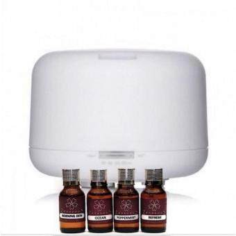 Zensuous Ultrasonic Aroma Diffuser with 4 x Aroma oil 15ml of your choice