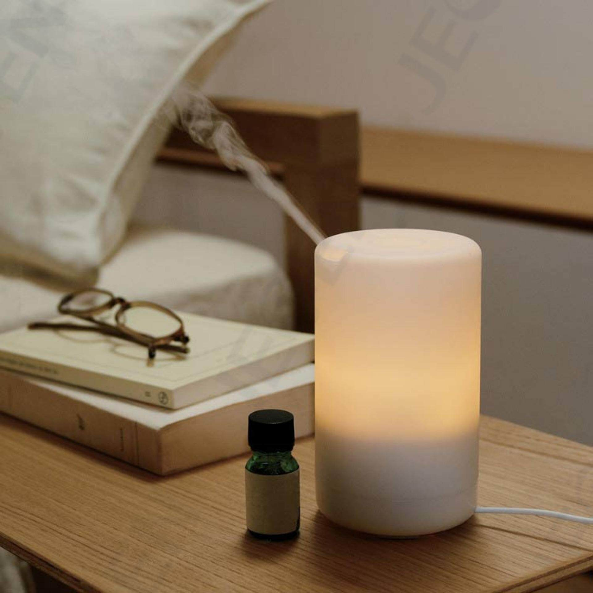 Ultrasonic Mini LED USB Essential Oil Humidifier Aromatherapy Aroma Diffuser Fresheners . Ready Stock