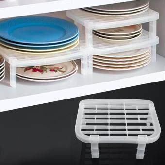 Under Sink Shelf Plate Dish Rack Organizer Holder Shelf Kitchen Bathroom  Storage Plastic