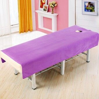 Harga Wholesale crystal velvet beauty bed linen wholesale crystal velvethigh-grade supplies beauty salon massage bed beauty hole shortplush velvet