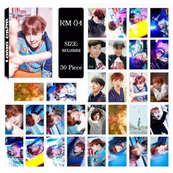 BTS Bangtan Boys ARMY LOVE YOURSELF Album LOMO Cards New Fashion Self Made Paper Photo Card