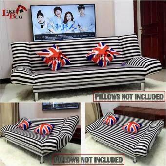 Zl Iris 3 Seater Living Room 2 In 1 Foldable Designer Sofa Bed