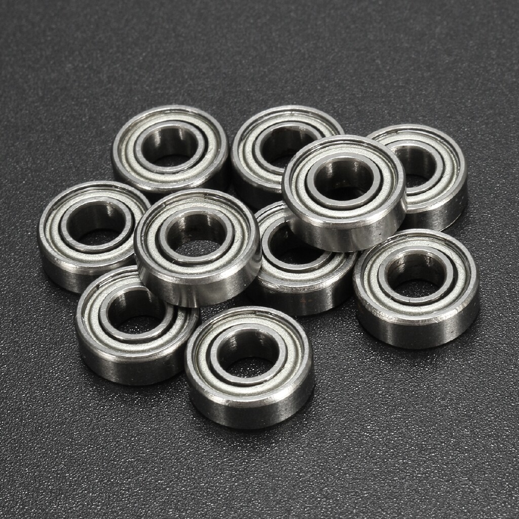 Automotive Tools & Equipment - 10Pc 685 ZZ 5x11x5mm Miniature Metal Ball Bearing 5115 m MINI Bearings 685zz - Car Replacement Parts