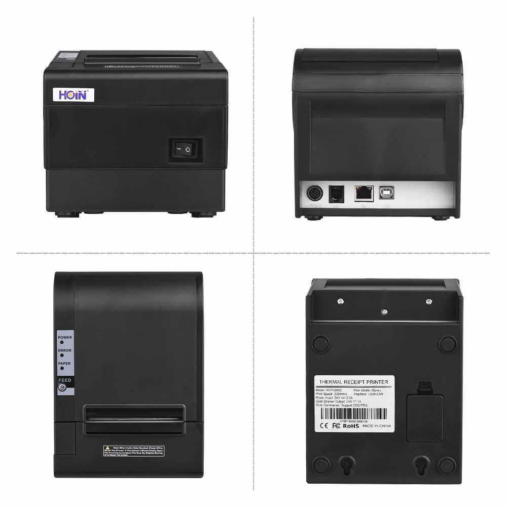 HOIN 80mm Thermal Receipt Printer (Eu)