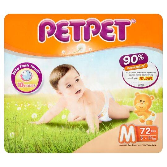 PAMPERS PET PET - M 72