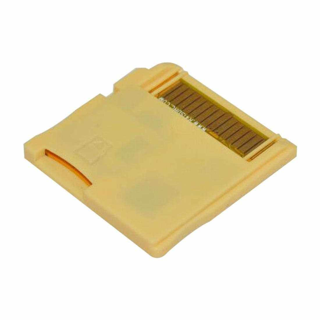 Wide Compatible R4 SDHC Micro Secure Digital Memory Card Adapter For DS (Golden)