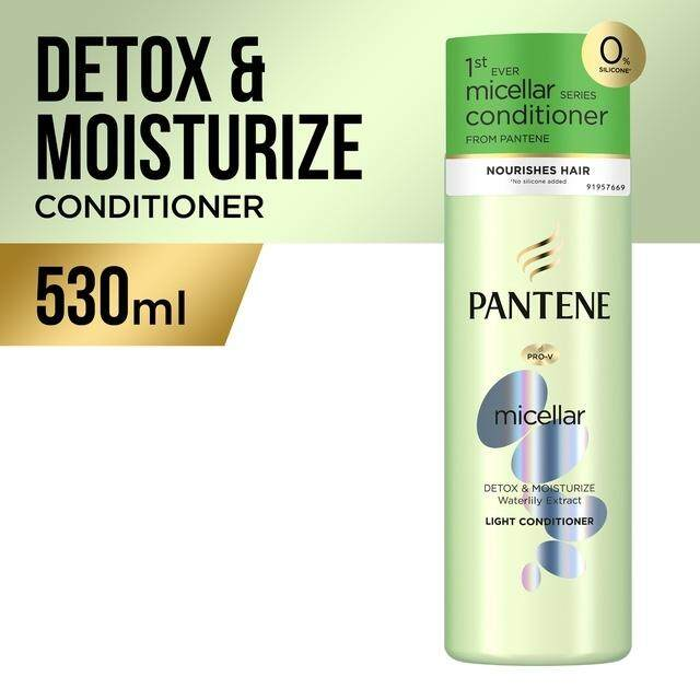Pantene Micellar Detox & Moisturize Conditioner 530ML