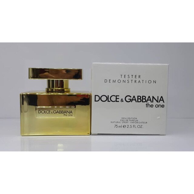 Ori Tester_D_G_The One 2014 Edition Gold EDP Perfume For Woman 100ml