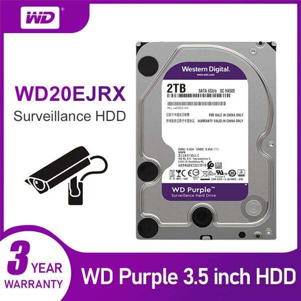 Bảng giá WD Purple 2TB HDD 64MB SATA 6 Gb/S1 3.5 Giám Sát Ổ Cứng Trong Cho Máy Quay Video WD20EJRX Phong Vũ