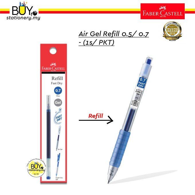 Faber Castell Air Gel Pen Refill 0.5/0.7- (1s/ PKT)