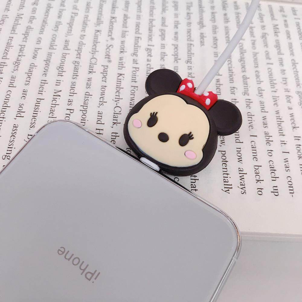 Cute Minnie Mouse Cartoon Cable Bite Data Cable Protector