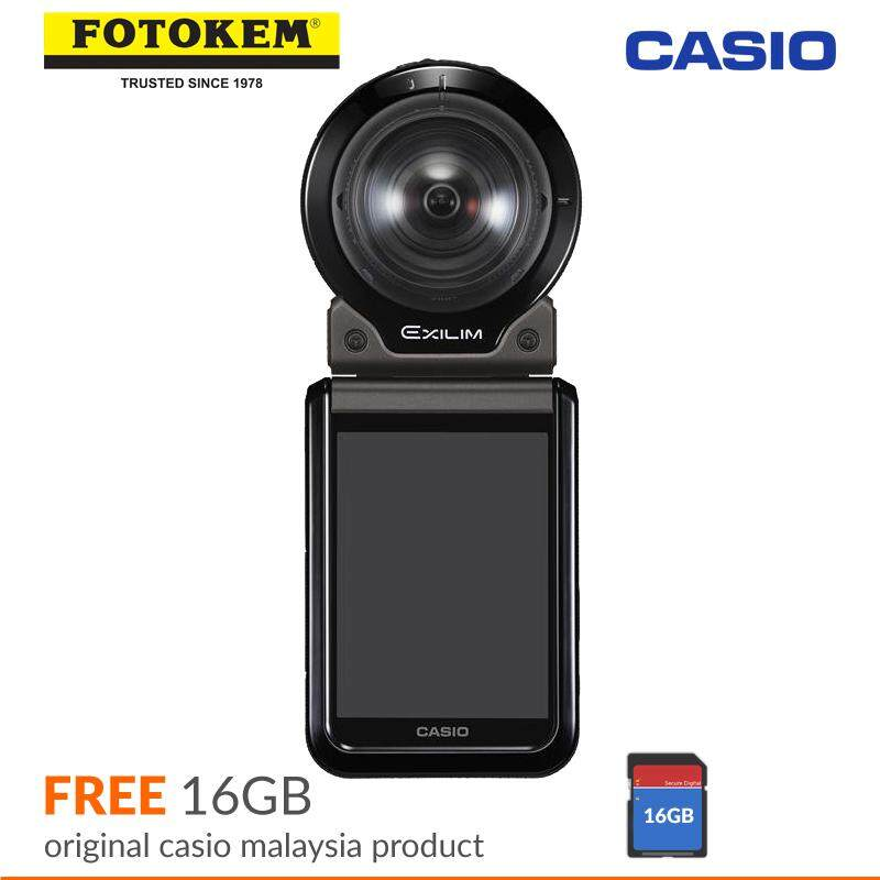 Casio Exilim FR200 Black + 16GB (Casio Malaysia Warranty)
