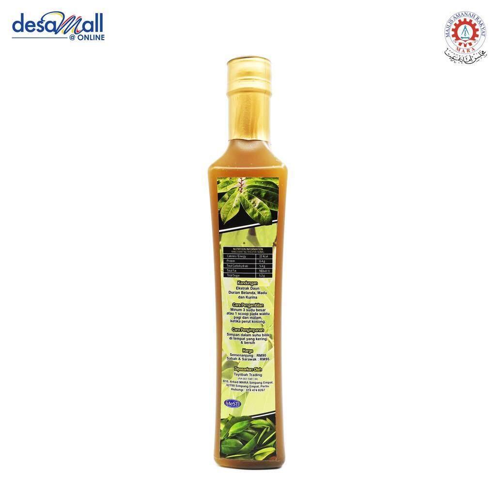 TAYIIBAH Jus Ekstrak Daun Durian Belanda + Madu & Kurma 500ml