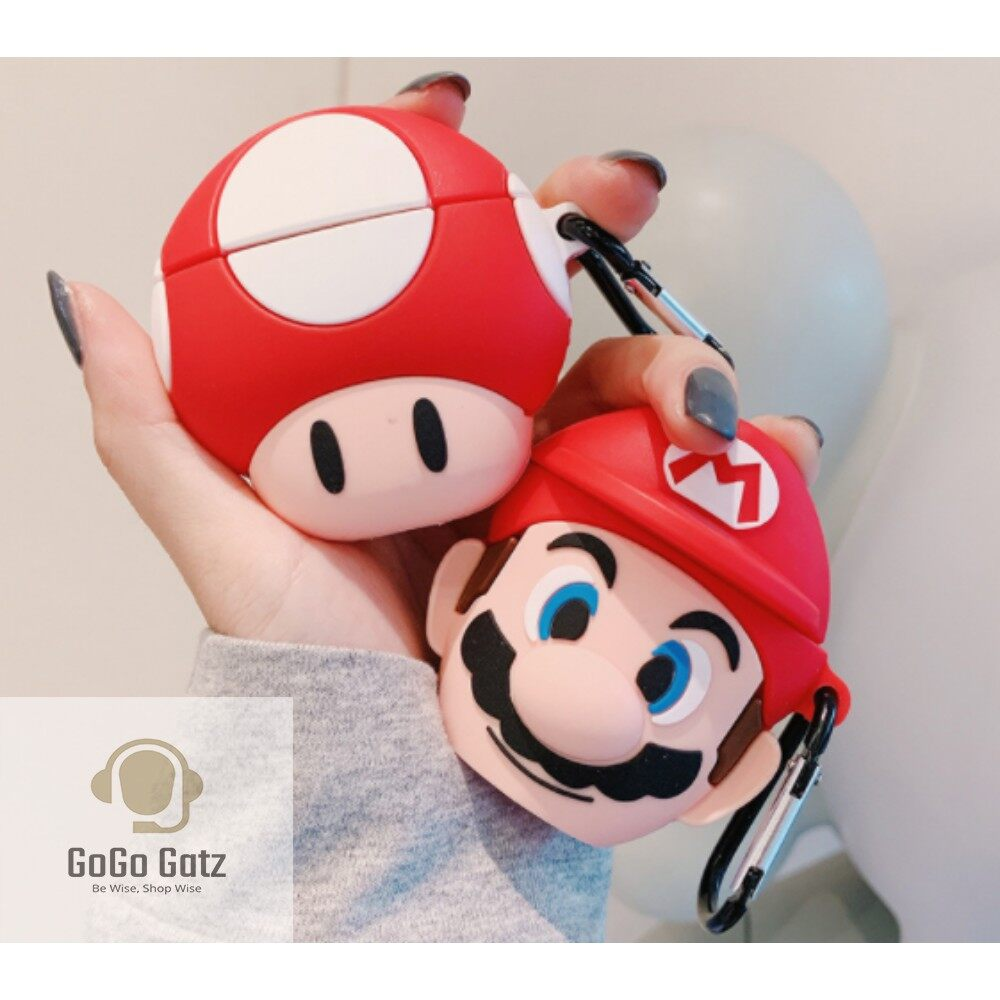 {Ship Out Within 24 Hours} Airpod 1/2 Case - Mario Version