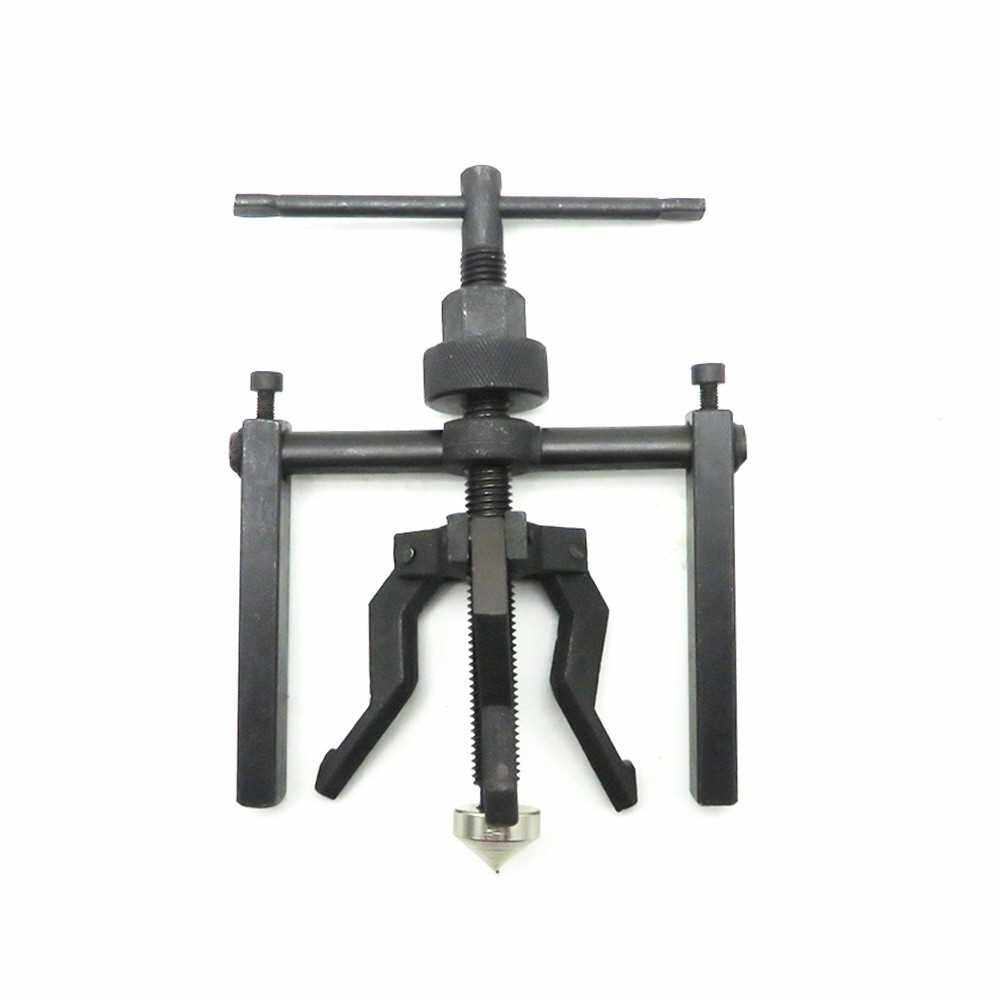 Fine-quality Carbon Steel 3-jaw Inner Bearing Puller Gear Extractor Heavy Duty Automotive Machine Tool Kit (Standard)