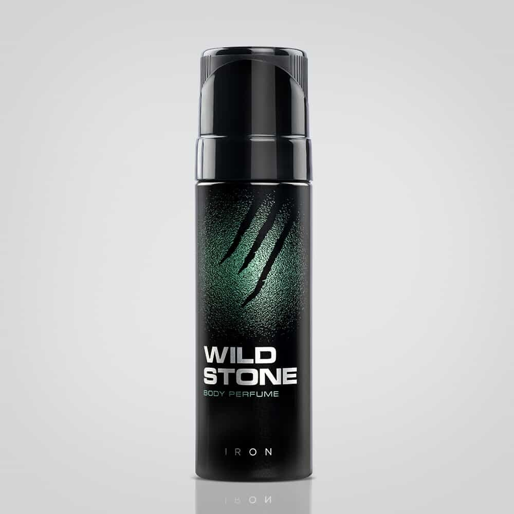 WILD STONE IRON BODY PERFUME SPRAY- 120 ML
