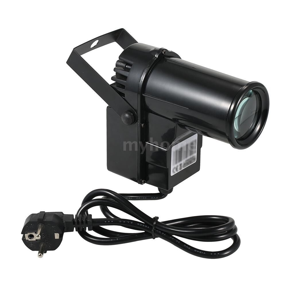 Lighting - 90-240V 15W 6 Channel DMX512 Sound Control Auto-play RGBW Color Changing Beam LED Stage Light Lamp - Home & Living