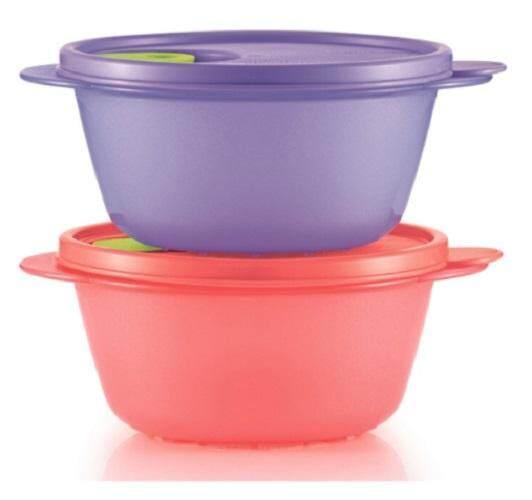 Tupperware CrystalWave Bowl (2) 800ml