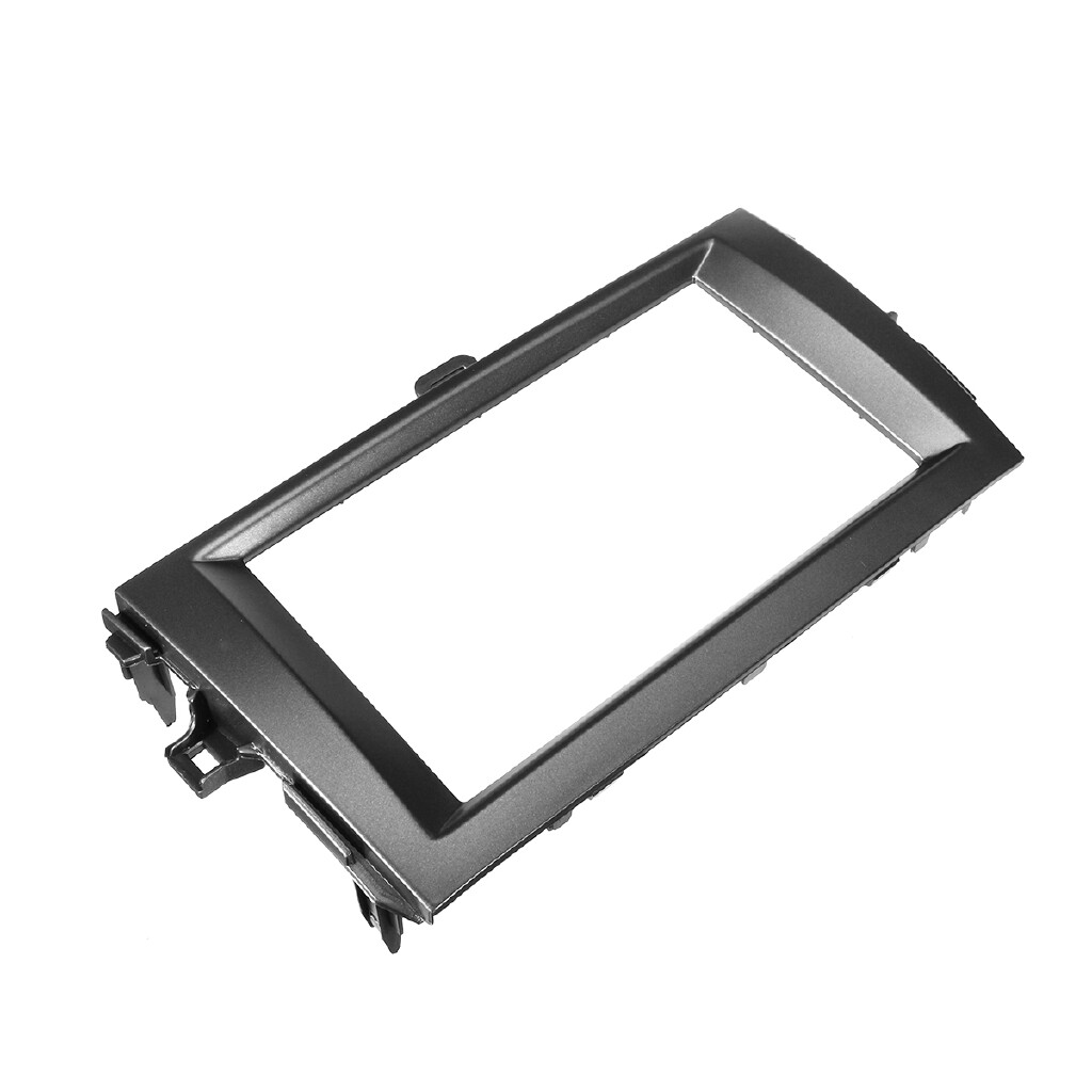 Car Stickers - Double Din Car Stereo Frame Facia Trim Dash Panel Kit For Toyota Corolla 08-10 - Accessories