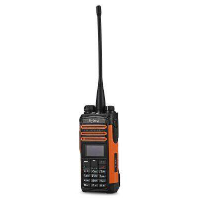 Hytera TD580 Transceiver UHF 350 - 470MHz LED Display (BLACK AND ORANGE)