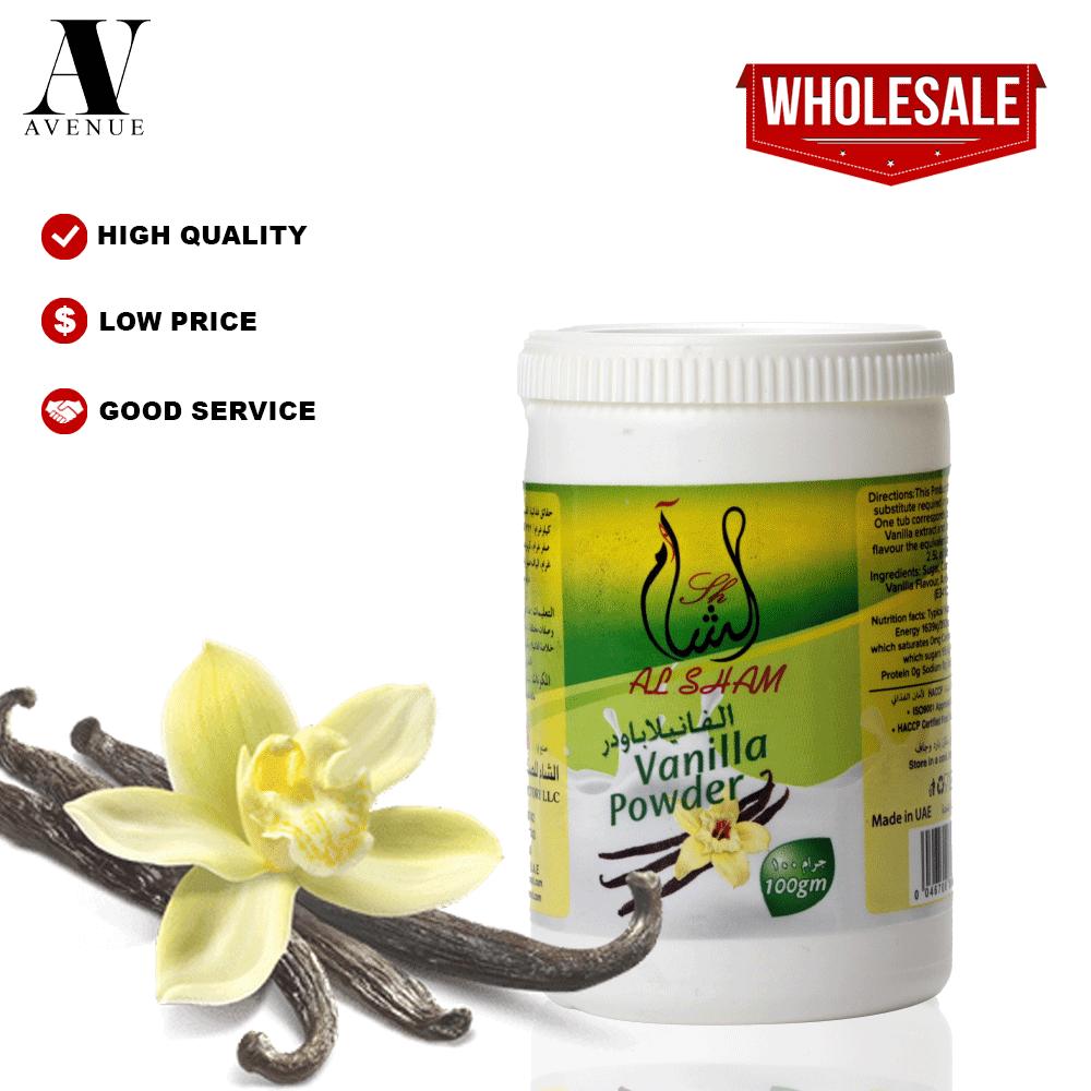Al Sham Vanilla Powder 100 g فانيلا بودر