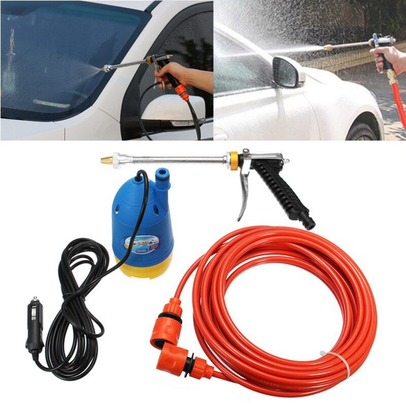 Car Lights - 60W 12V PORTABLE High Pressure Car Electric Washer Clean Submersible Pump - Replacement Parts