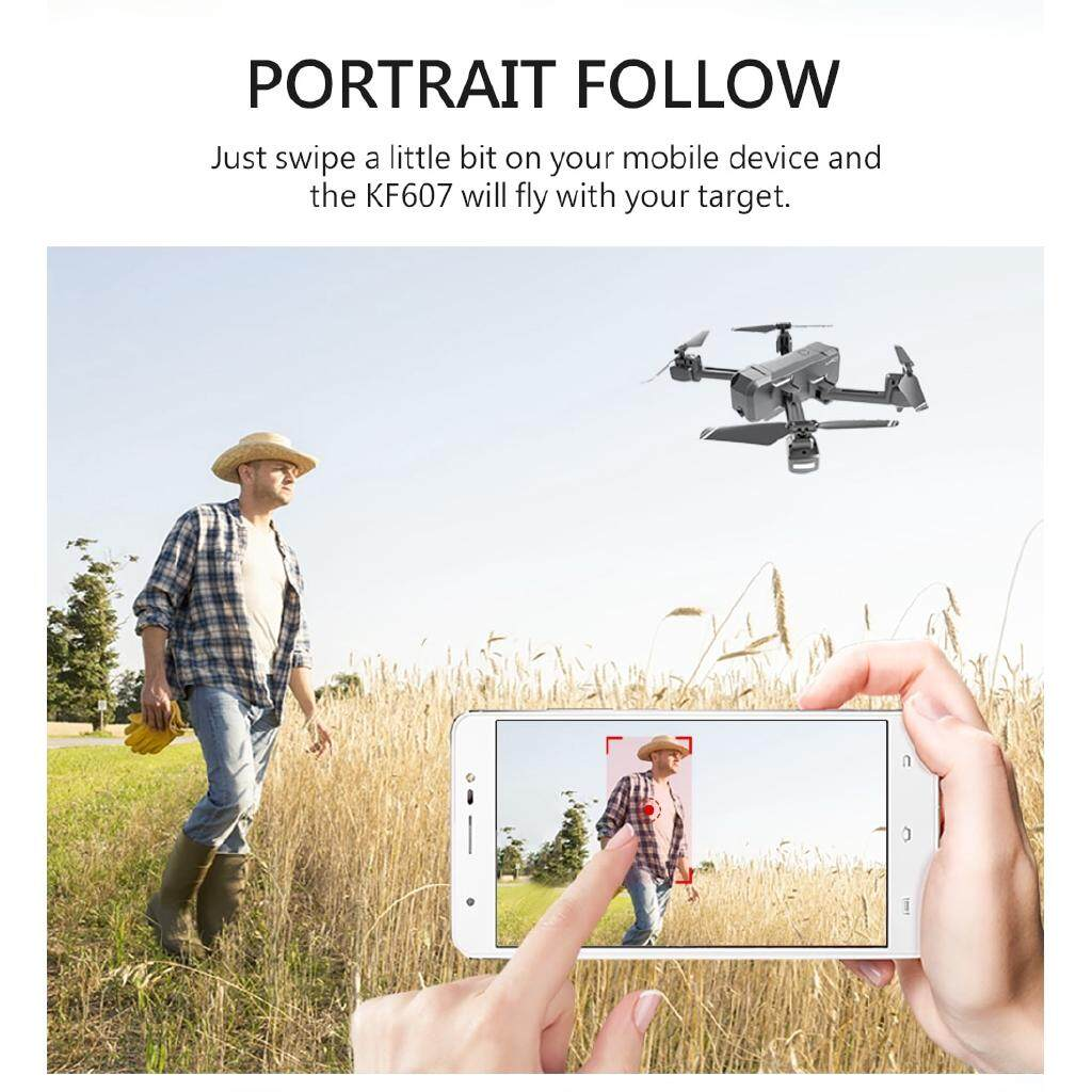 KF607 Wifi FPV Quadcopter with 4K / 1080P HD Camera Folding Drone - 1080P 1B ORIGIN BOX / 4K 1B ORIGINAL BOX / 1080P + 2B / 4K + 2B