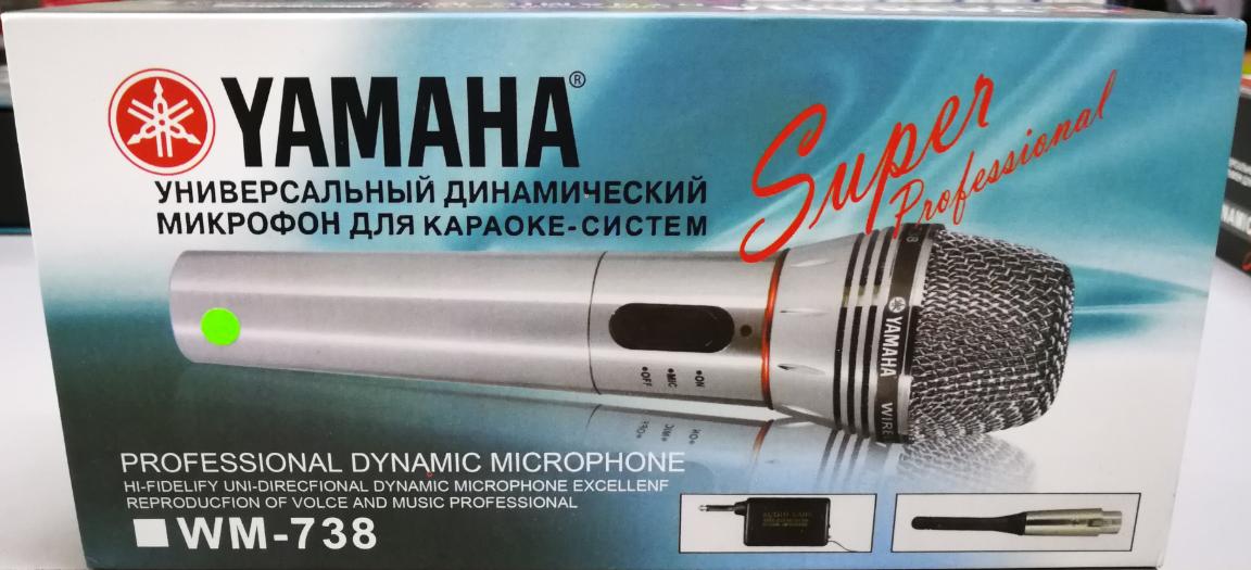 Yamaha WM-738 Professional Wireless Dynamic Microphone For Karaoke/Vocal