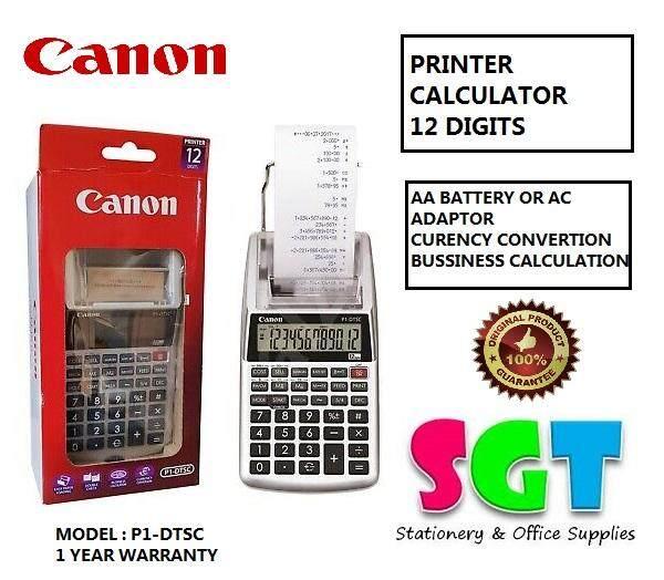 Canon Printing Calculator 12 Digits (P1-DTSC)
