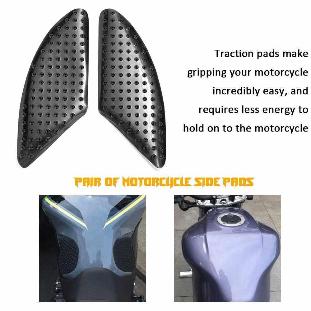 Motorcycle Heat Insulation Tank Pad Anti Slip Sticker Knee Grip Traction Side Pads (Standard)