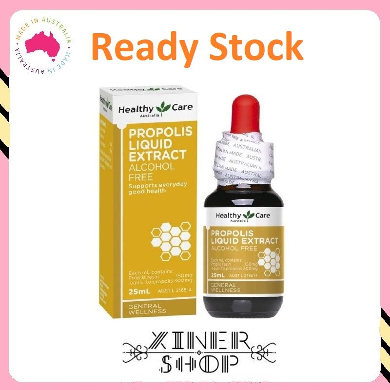 [Ready Stock EXP Date: 05/2023] Healthy Care Propolis Liquid Extra ( 25ml ) ( Made In Australia )